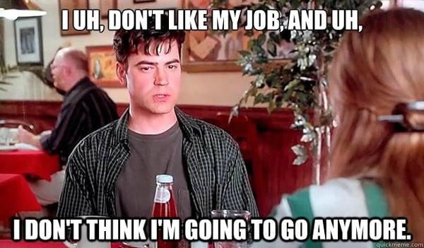 I dont like my job